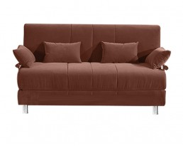 Sofabed Type E (120cm/150cm) - Brown