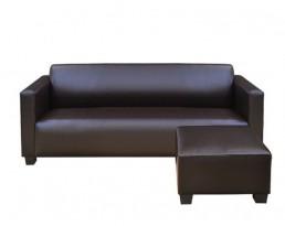 Sofa Type N PU Leather - Brown