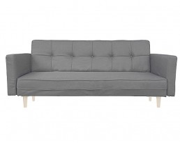 Sofabed Type C A01 Fabric - Light Grey
