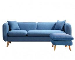 Sofa AS29 (140cm/180cm) - Blue