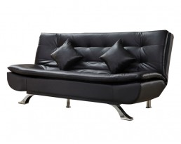 Sofabed Type B C01 PU Leather - Black